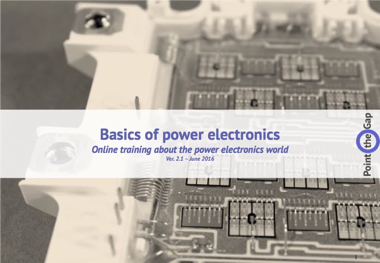 Basics of Power Electronics PEbasics